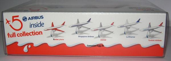 Kinder Surprise - 5er Pack - Airbus - OVP